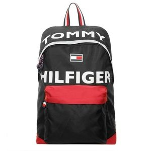 Black Tommy Hilfiger Hollis Backpack